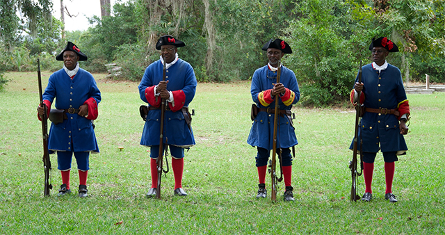 Fort Mose Soldiers